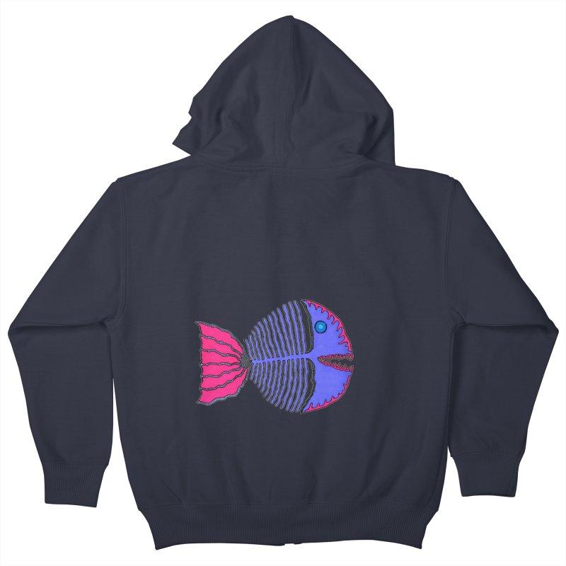 BoneFish Kids Zip-Up Hoody by Baston's T-Shirt Emporium!