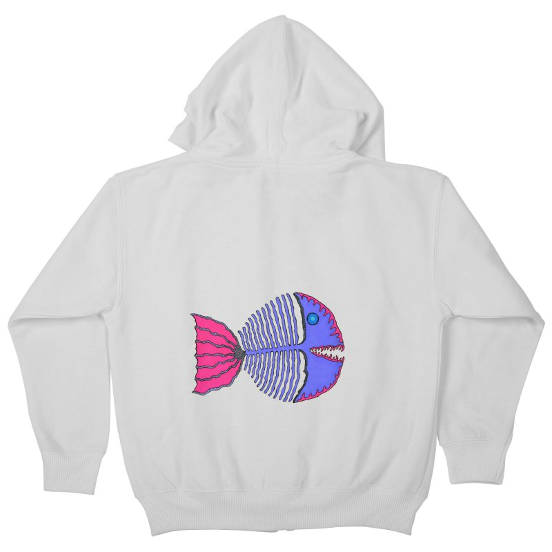 BoneFish Kids Zip-Up Hoody by Baston's T-Shirt Emporium!