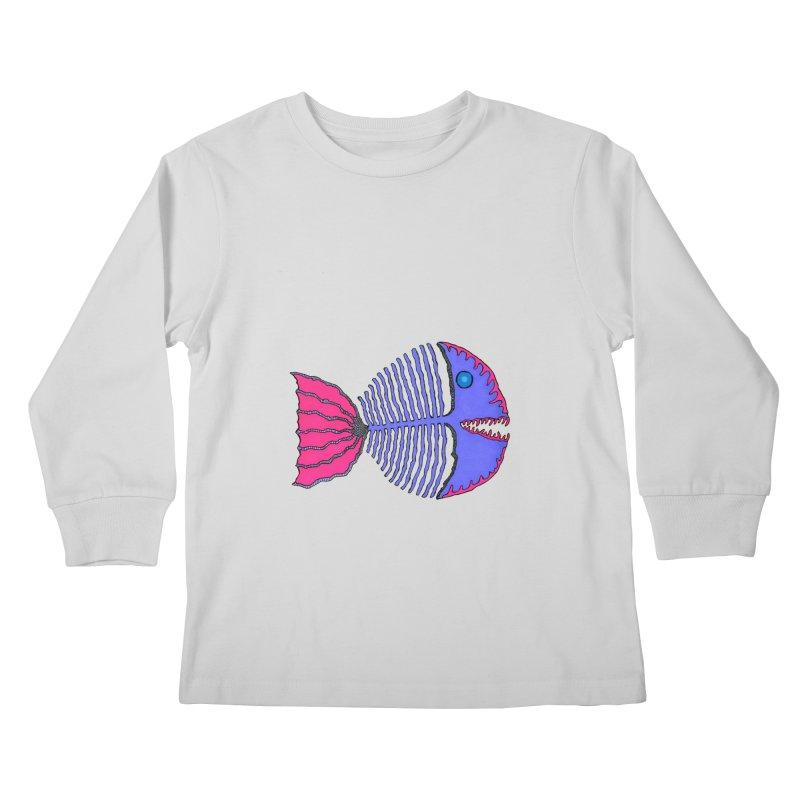 BoneFish Kids Longsleeve T-Shirt by Baston's T-Shirt Emporium!