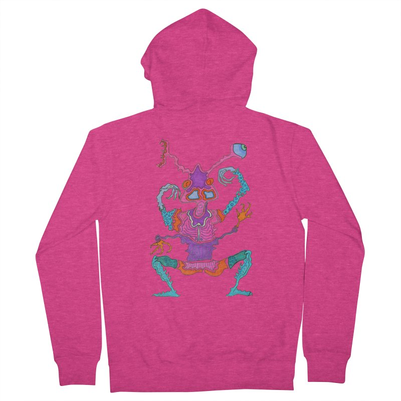 Alien! Women's Zip-Up Hoody by Baston's T-Shirt Emporium!