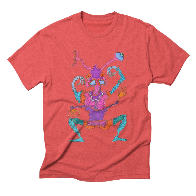 Alien! Men's Triblend T-shirt by Baston's T-Shirt Emporium!