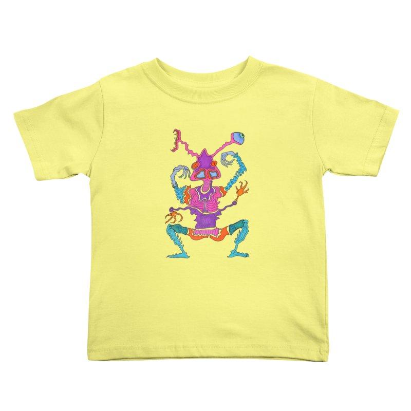 Alien! Kids Toddler T-Shirt by Baston's T-Shirt Emporium!