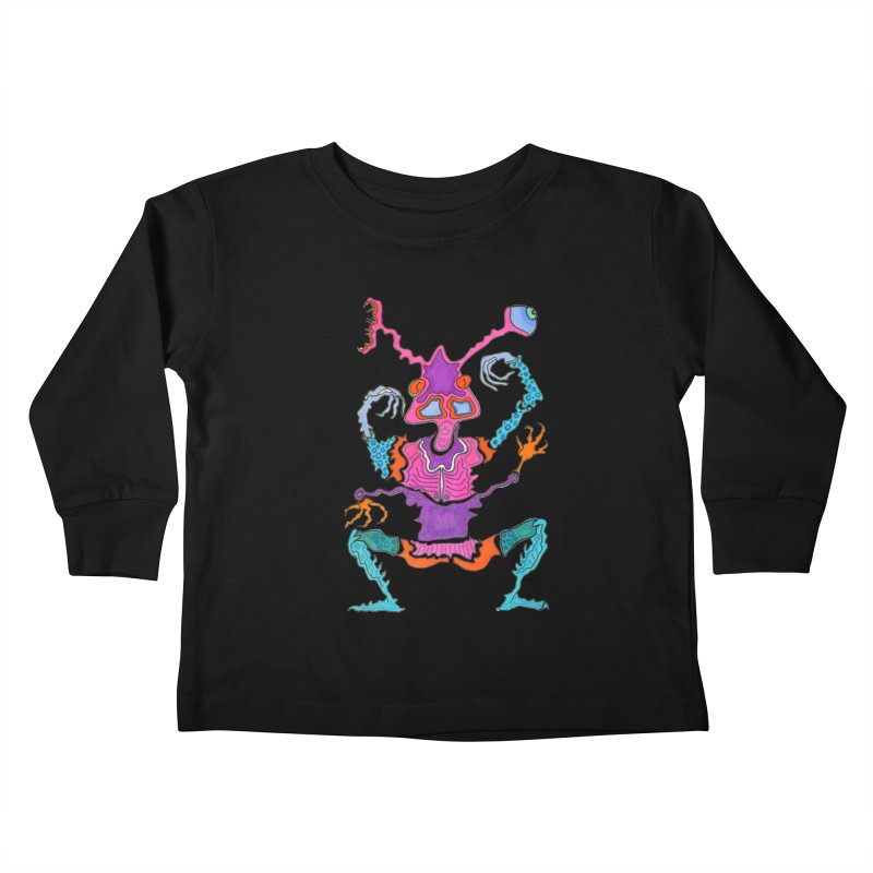 Alien! Kids Toddler Longsleeve T-Shirt by Baston's T-Shirt Emporium!