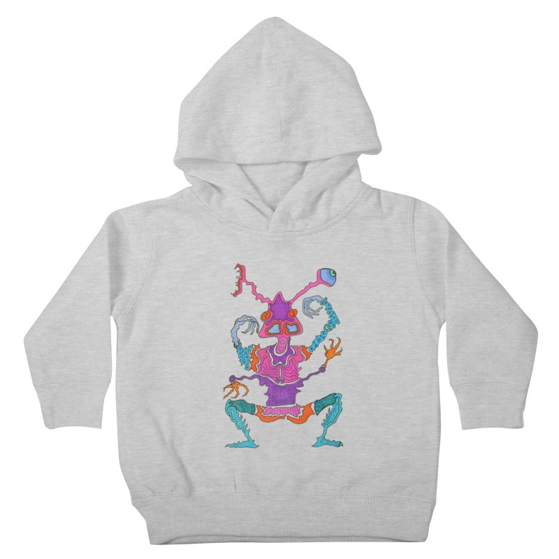 Alien! Kids Toddler Pullover Hoody by Baston's T-Shirt Emporium!