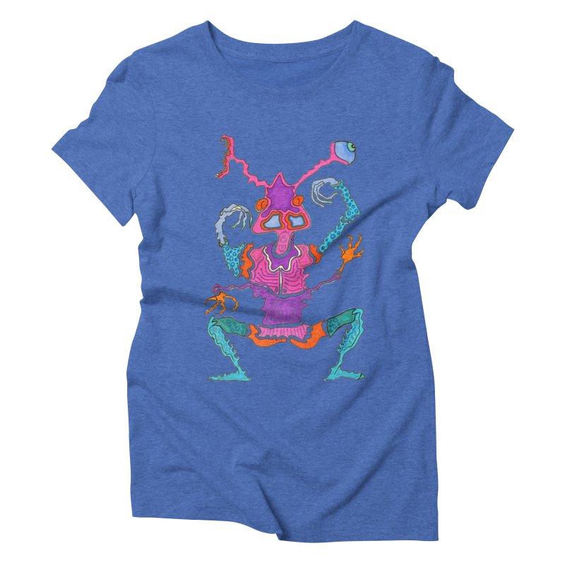 Alien! Women's Triblend T-shirt by Baston's T-Shirt Emporium!