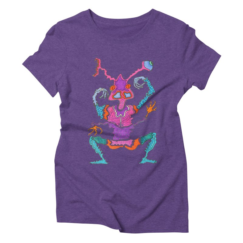 Alien! Women's Triblend T-shirt by Baston's T-Shirt Emporium!