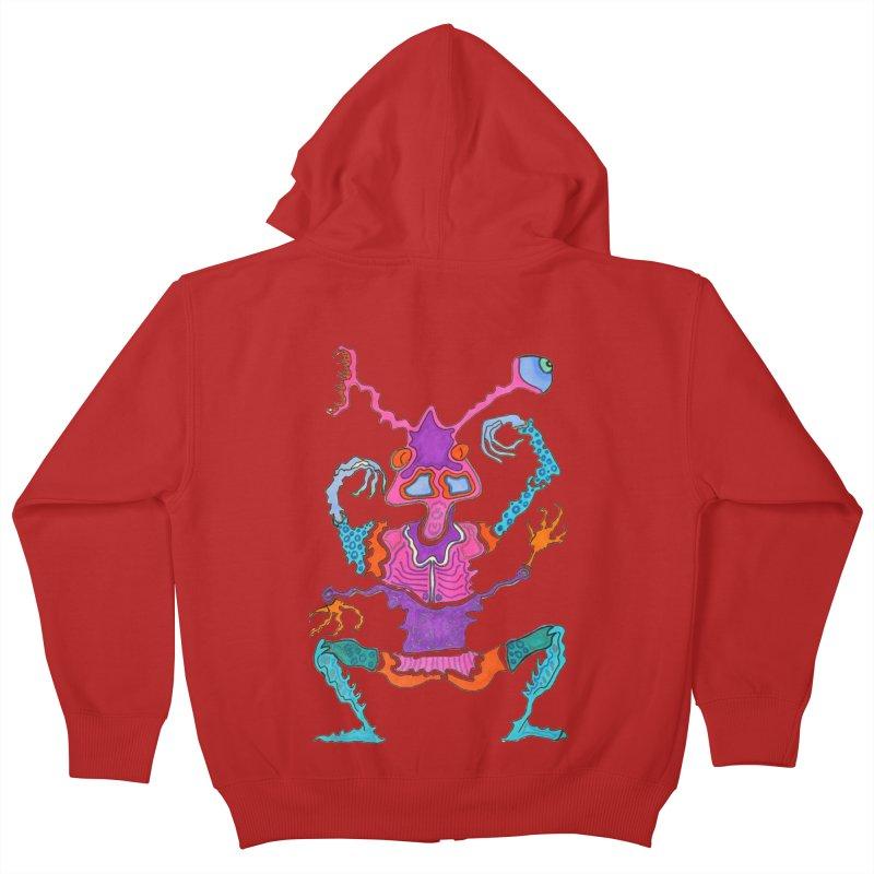 Alien! Kids Zip-Up Hoody by Baston's T-Shirt Emporium!