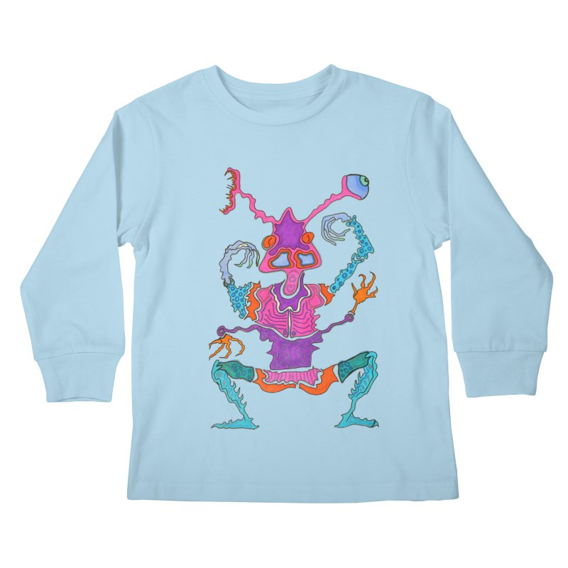 Alien! Kids Longsleeve T-Shirt by Baston's T-Shirt Emporium!
