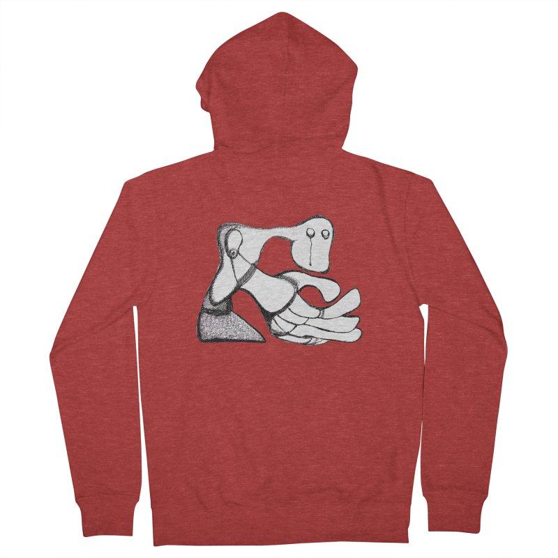 Tear Drop Women's Zip-Up Hoody by Baston's T-Shirt Emporium!