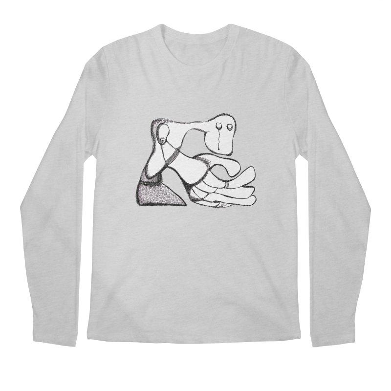 Tear Drop Men's Longsleeve T-Shirt by Baston's T-Shirt Emporium!