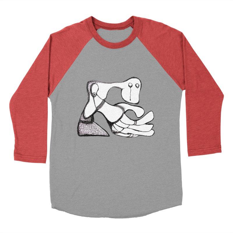 Tear Drop Men's Baseball Triblend T-Shirt by Baston's T-Shirt Emporium!