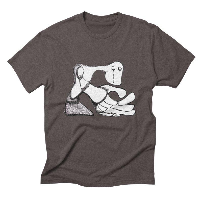 Tear Drop Men's Triblend T-shirt by Baston's T-Shirt Emporium!