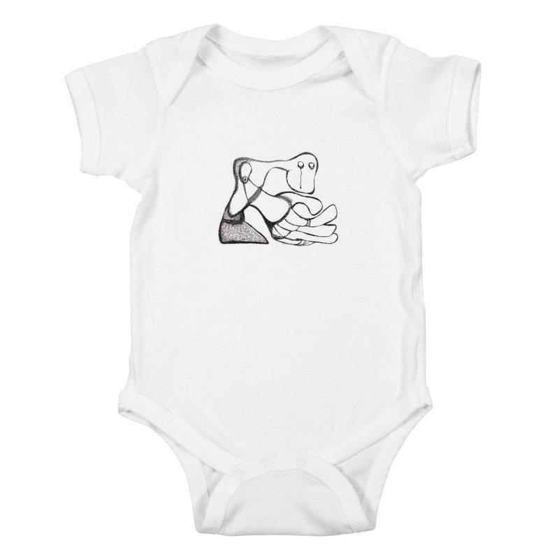 Tear Drop Kids Baby Bodysuit by Baston's T-Shirt Emporium!