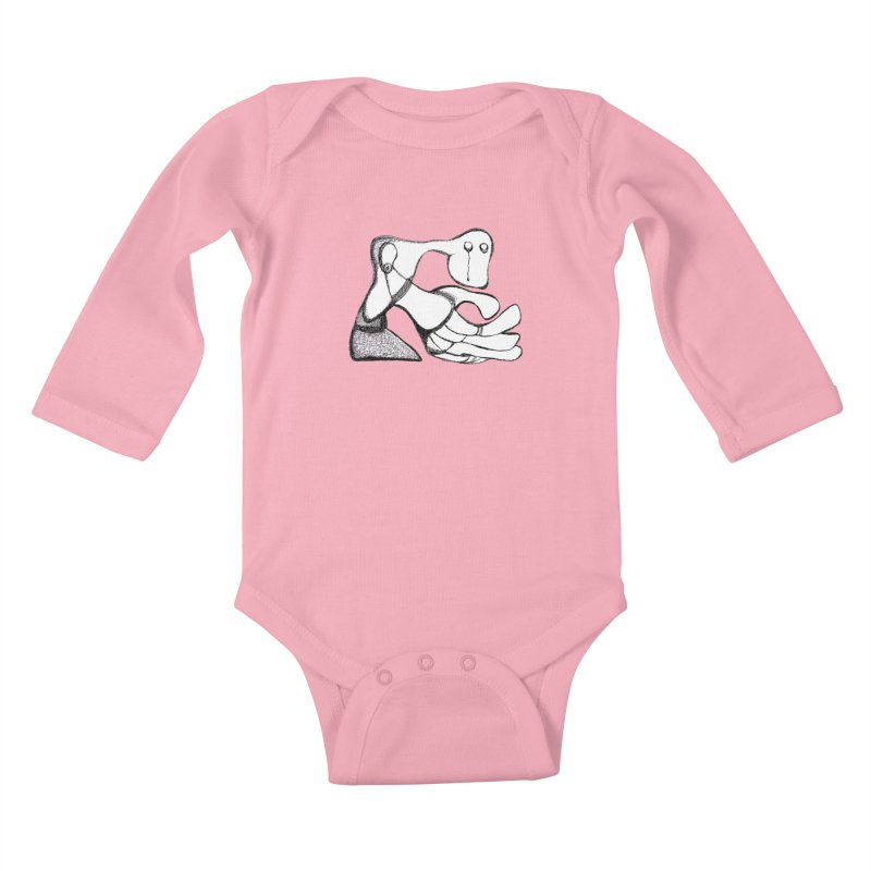 Tear Drop Kids Baby Longsleeve Bodysuit by Baston's T-Shirt Emporium!
