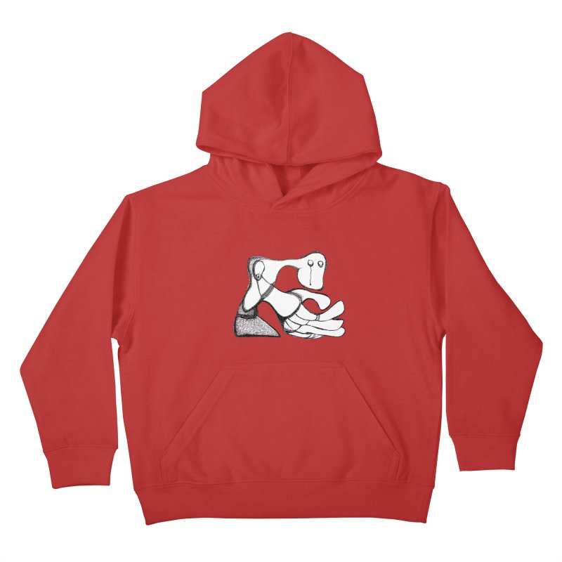 Tear Drop Kids Pullover Hoody by Baston's T-Shirt Emporium!