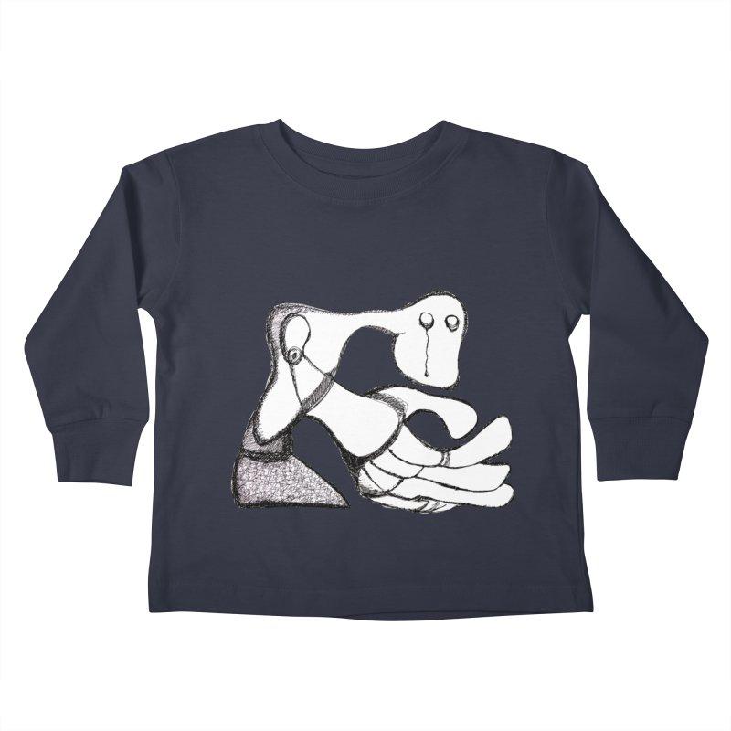 Tear Drop Kids Toddler Longsleeve T-Shirt by Baston's T-Shirt Emporium!