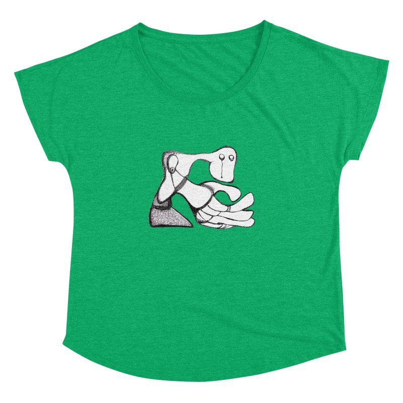 Tear Drop Women's Dolman by Baston's T-Shirt Emporium!