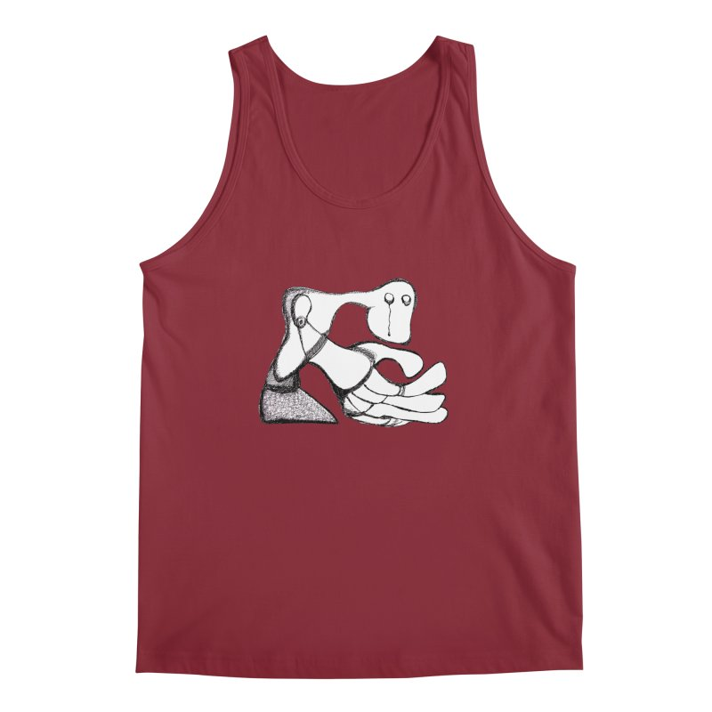 Tear Drop Men's Tank by Baston's T-Shirt Emporium!