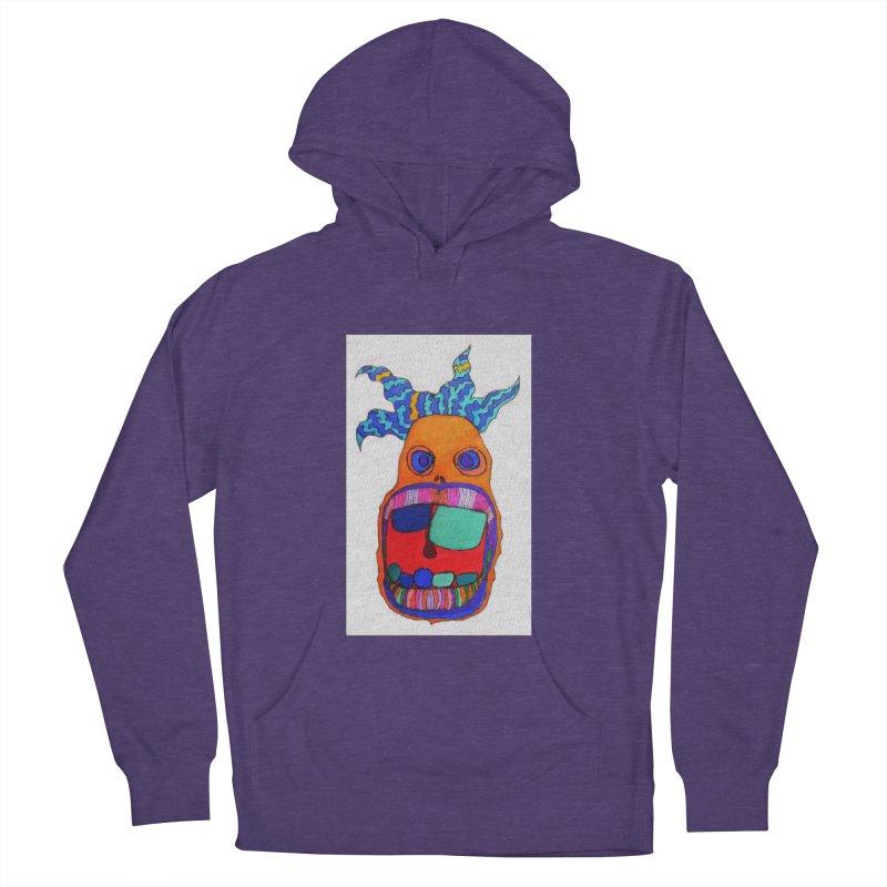 Wild Multicolored Wally! Men's Pullover Hoody by Baston's T-Shirt Emporium!