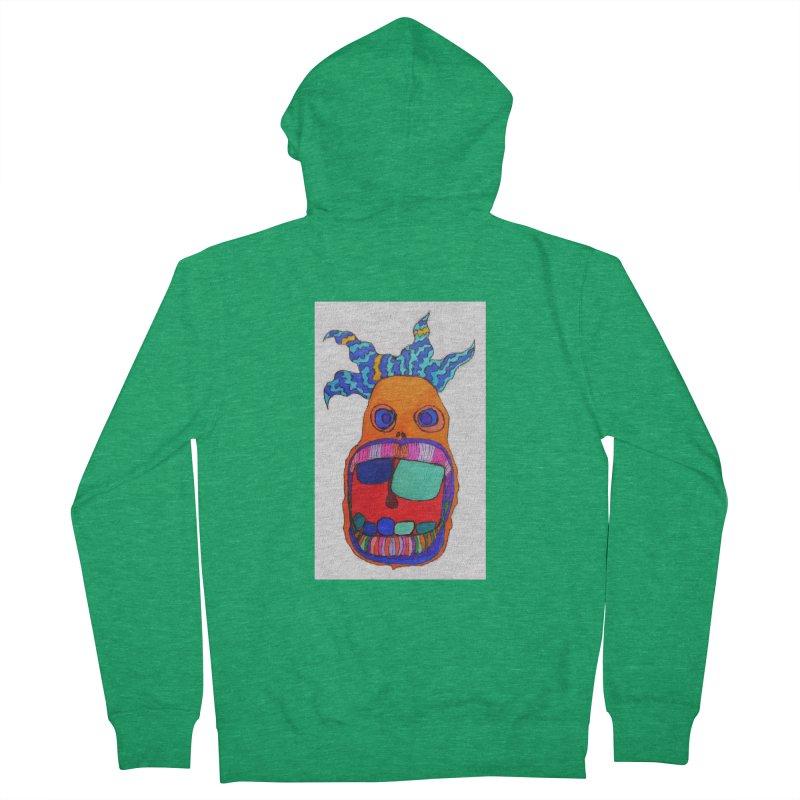 Wild Multicolored Wally! Women's Zip-Up Hoody by Baston's T-Shirt Emporium!