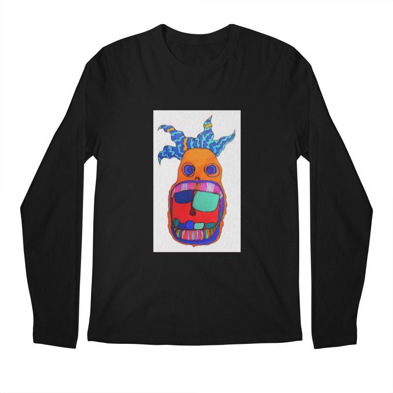 Wild Multicolored Wally! Men's Longsleeve T-Shirt by Baston's T-Shirt Emporium!