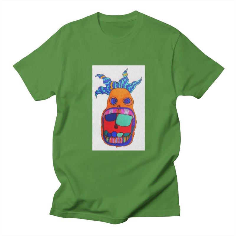 Wild Multicolored Wally! Men's T-shirt by Baston's T-Shirt Emporium!