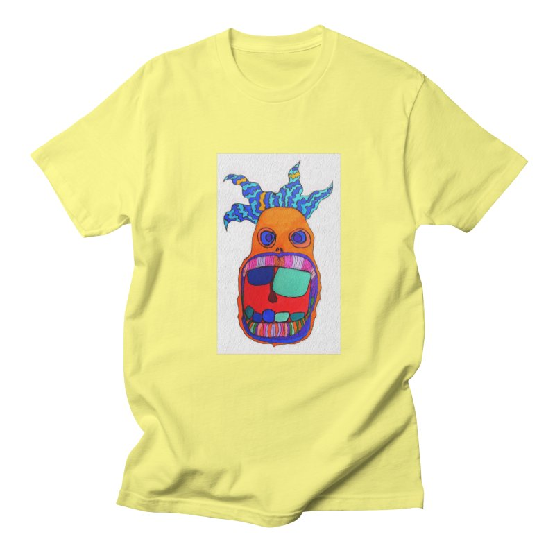 Wild Multicolored Wally! Men's T-shirt by Baston's T-Shirt Emporium!