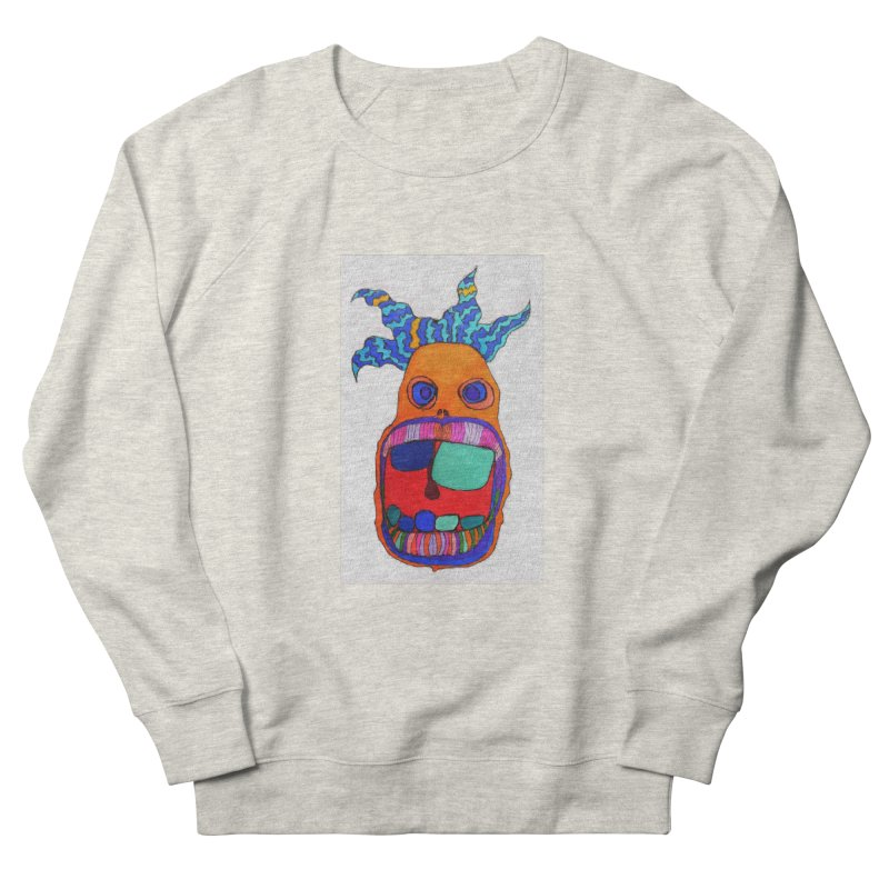Wild Multicolored Wally! Women's Sweatshirt by Baston's T-Shirt Emporium!
