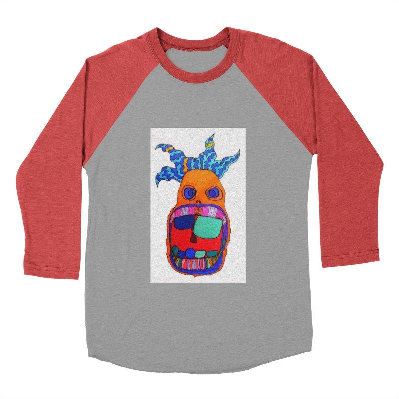 Wild Multicolored Wally! Women's Baseball Triblend T-Shirt by Baston's T-Shirt Emporium!