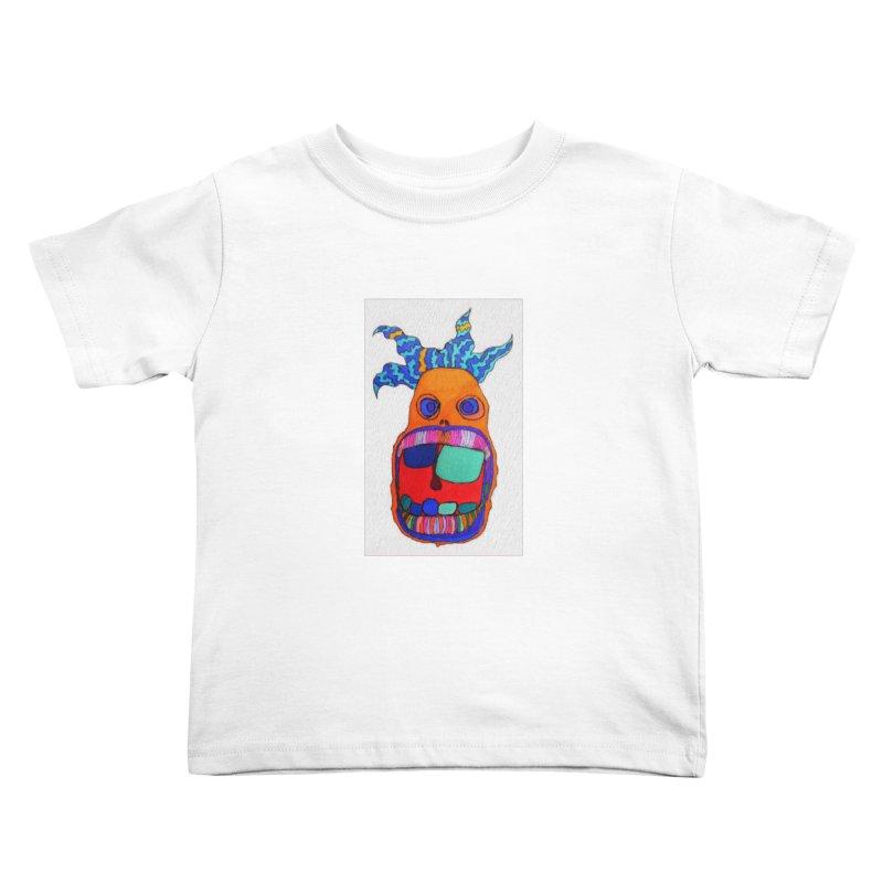 Wild Multicolored Wally! Kids Toddler T-Shirt by Baston's T-Shirt Emporium!