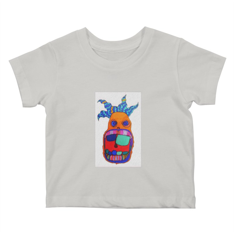 Wild Multicolored Wally! Kids Baby T-Shirt by Baston's T-Shirt Emporium!