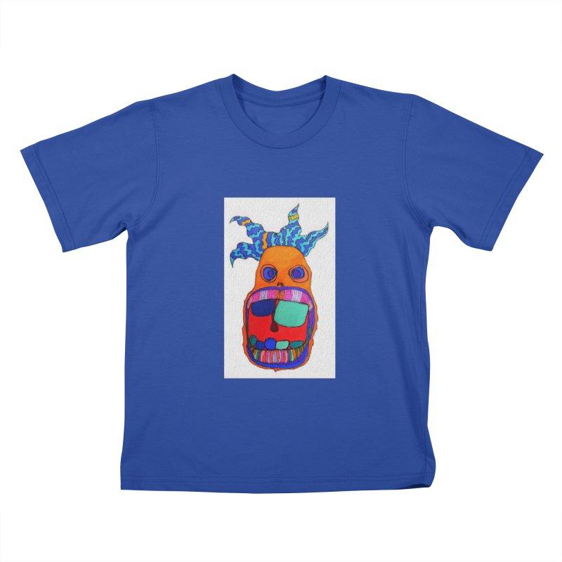 Wild Multicolored Wally! Kids T-shirt by Baston's T-Shirt Emporium!