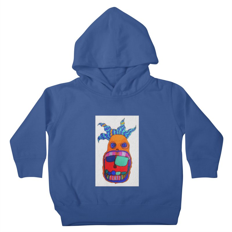 Wild Multicolored Wally! Kids Toddler Pullover Hoody by Baston's T-Shirt Emporium!