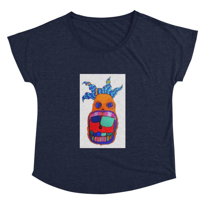 Wild Multicolored Wally! Women's Dolman by Baston's T-Shirt Emporium!