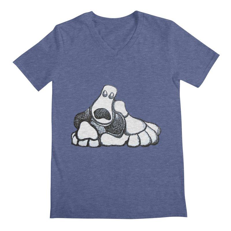 ANGST Men's V-Neck by Baston's T-Shirt Emporium!