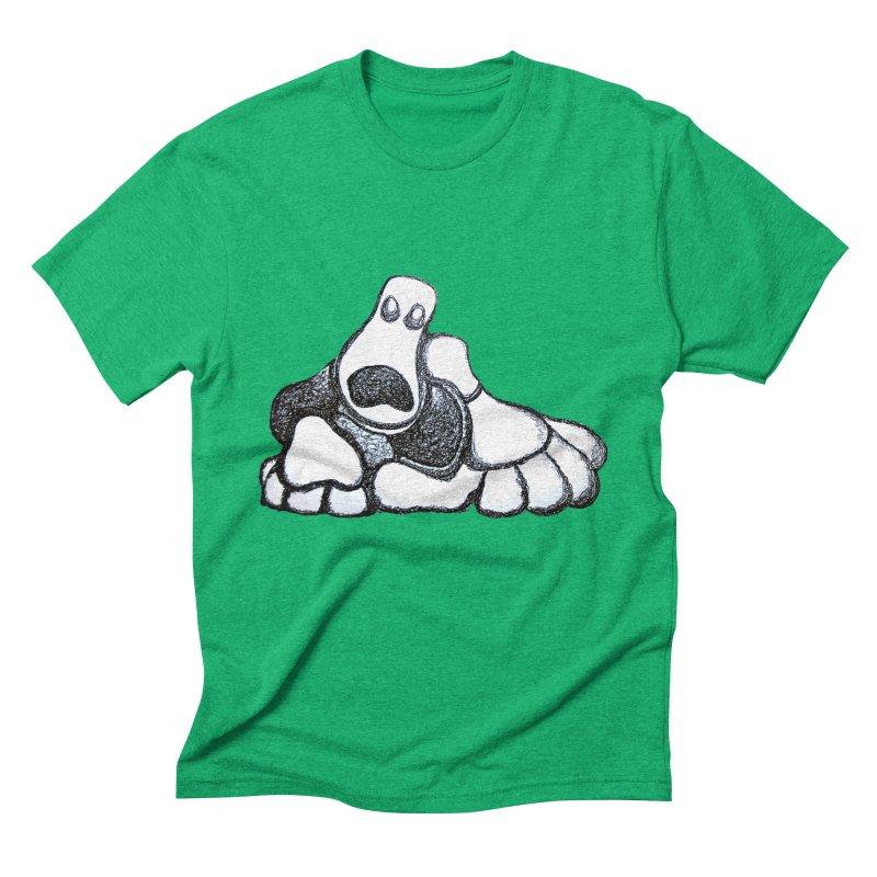 ANGST Men's Triblend T-shirt by Baston's T-Shirt Emporium!