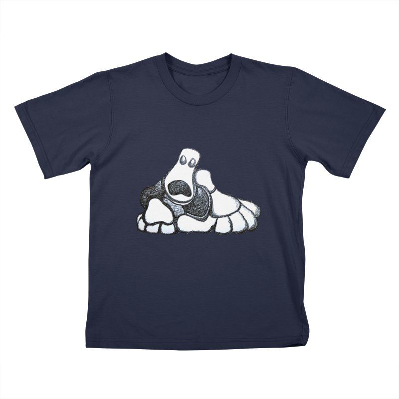 ANGST Kids T-shirt by Baston's T-Shirt Emporium!