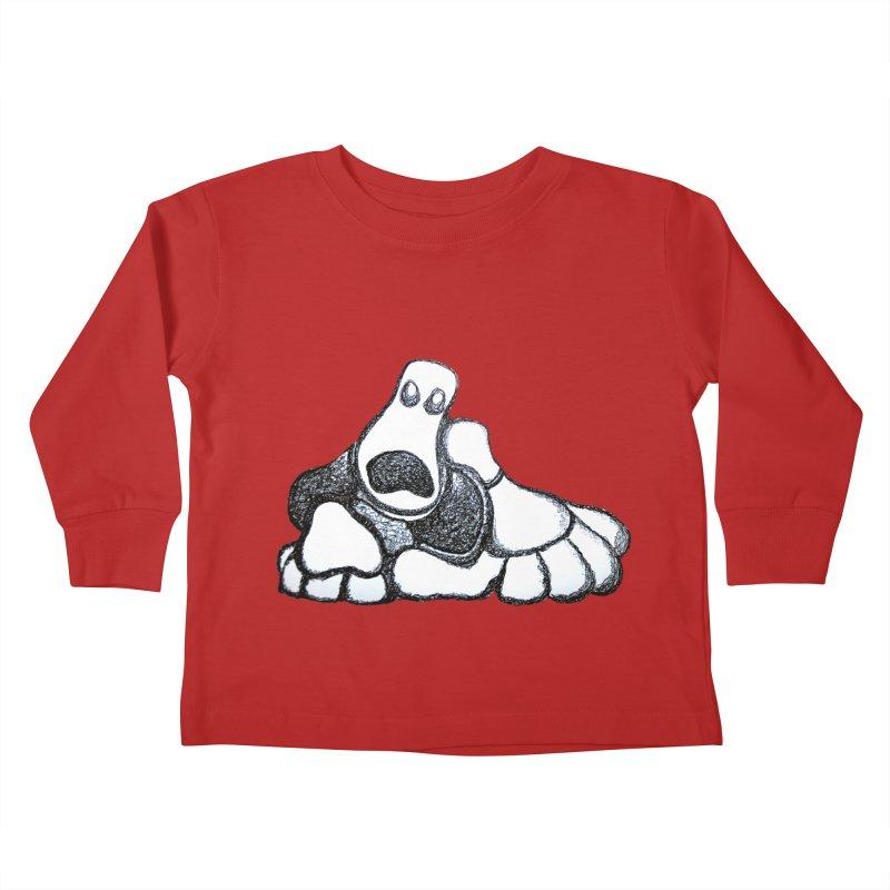 ANGST Kids Toddler Longsleeve T-Shirt by Baston's T-Shirt Emporium!