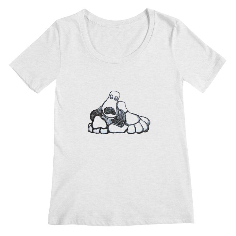 ANGST Women's Scoopneck by Baston's T-Shirt Emporium!