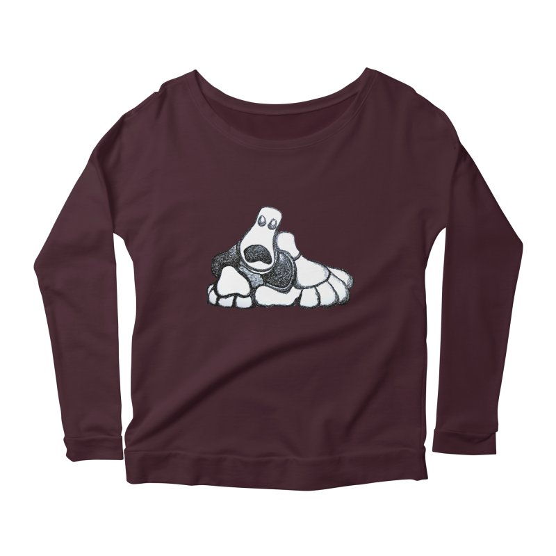 ANGST Women's Longsleeve Scoopneck  by Baston's T-Shirt Emporium!