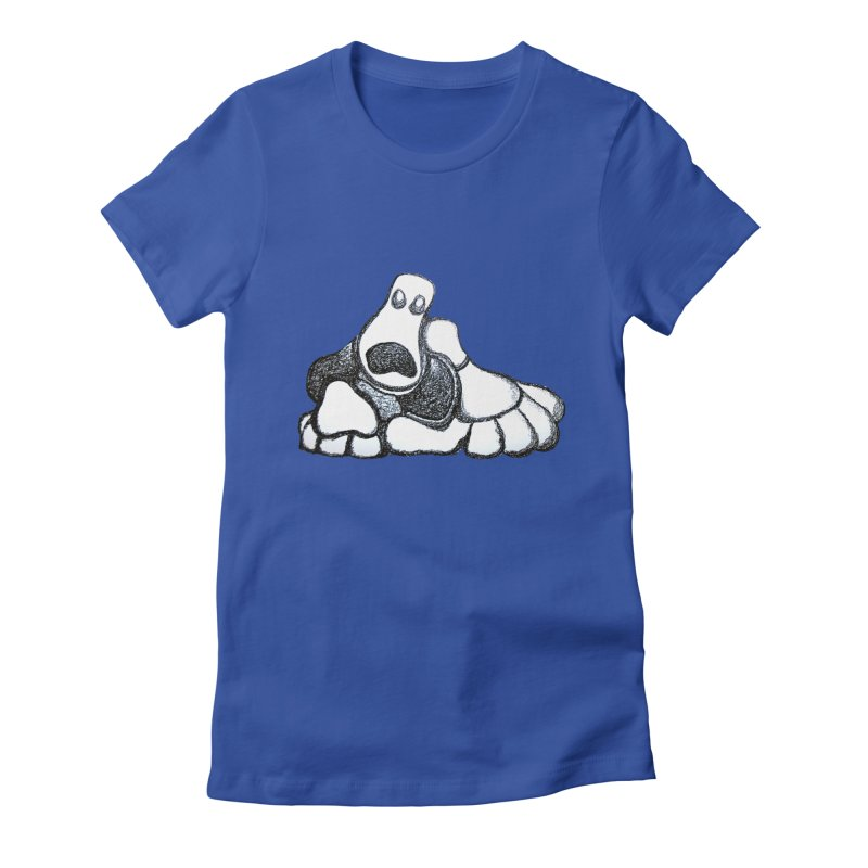 ANGST Women's Fitted T-Shirt by Baston's T-Shirt Emporium!