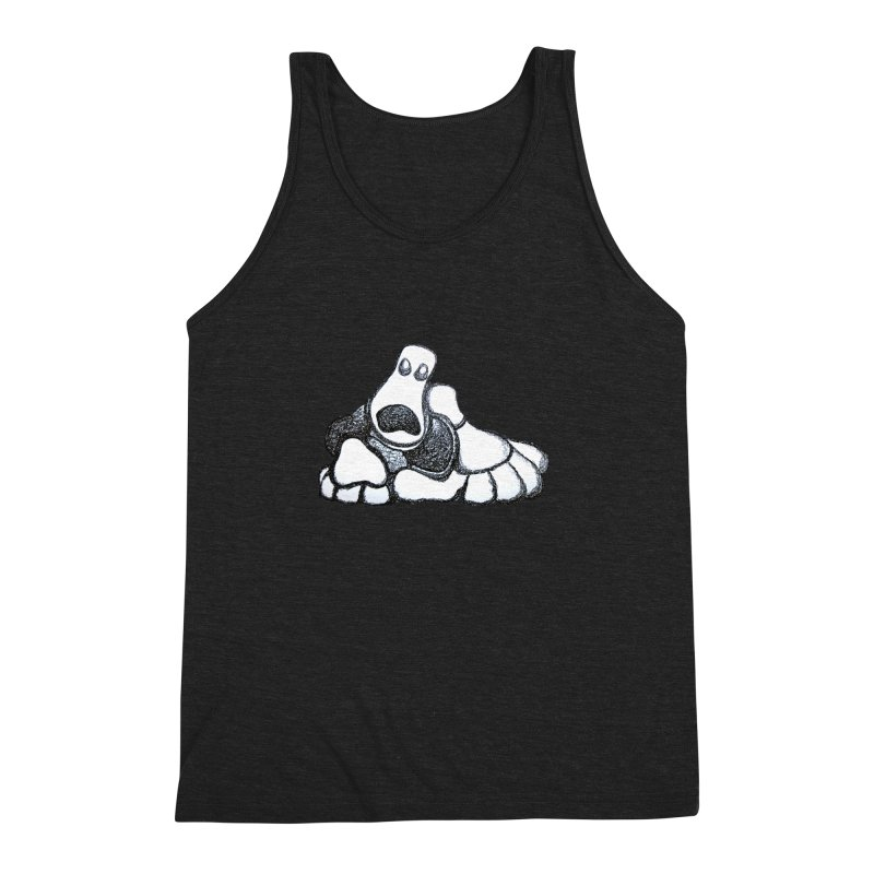 ANGST Men's Triblend Tank by Baston's T-Shirt Emporium!