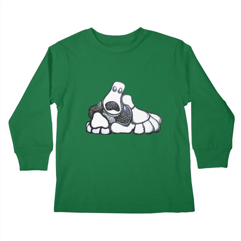 ANGST Kids Longsleeve T-Shirt by Baston's T-Shirt Emporium!