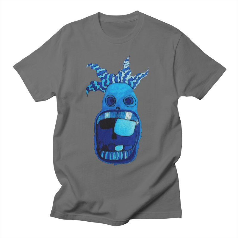 BLUE WALLY!  Men's T-Shirt by Baston's T-Shirt Emporium!