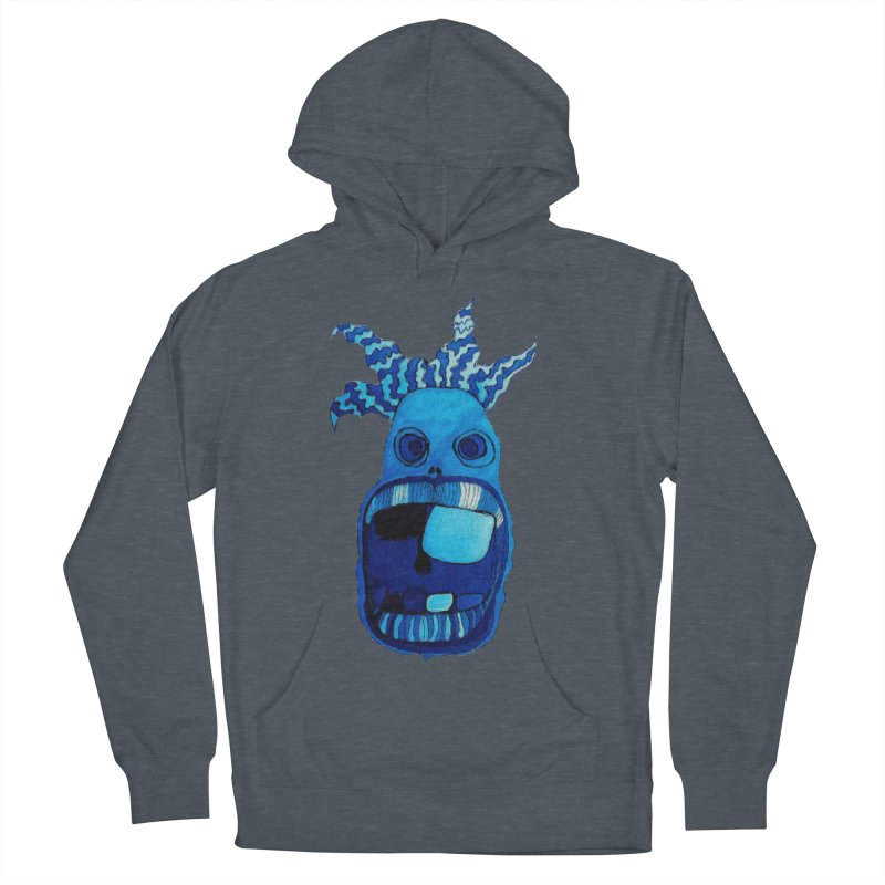 BLUE WALLY!  Women's Pullover Hoody by Baston's T-Shirt Emporium!