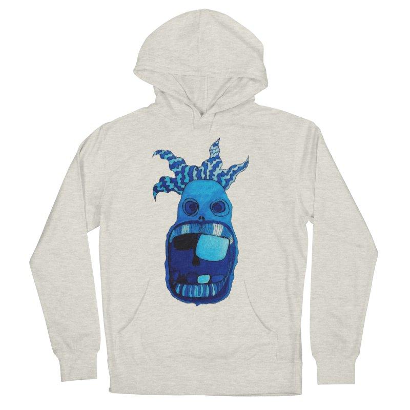BLUE WALLY!  Women's Pullover Hoody by Baston's T-Shirt Emporium!