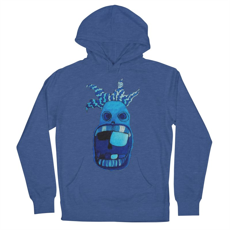 BLUE WALLY!  Men's Pullover Hoody by Baston's T-Shirt Emporium!
