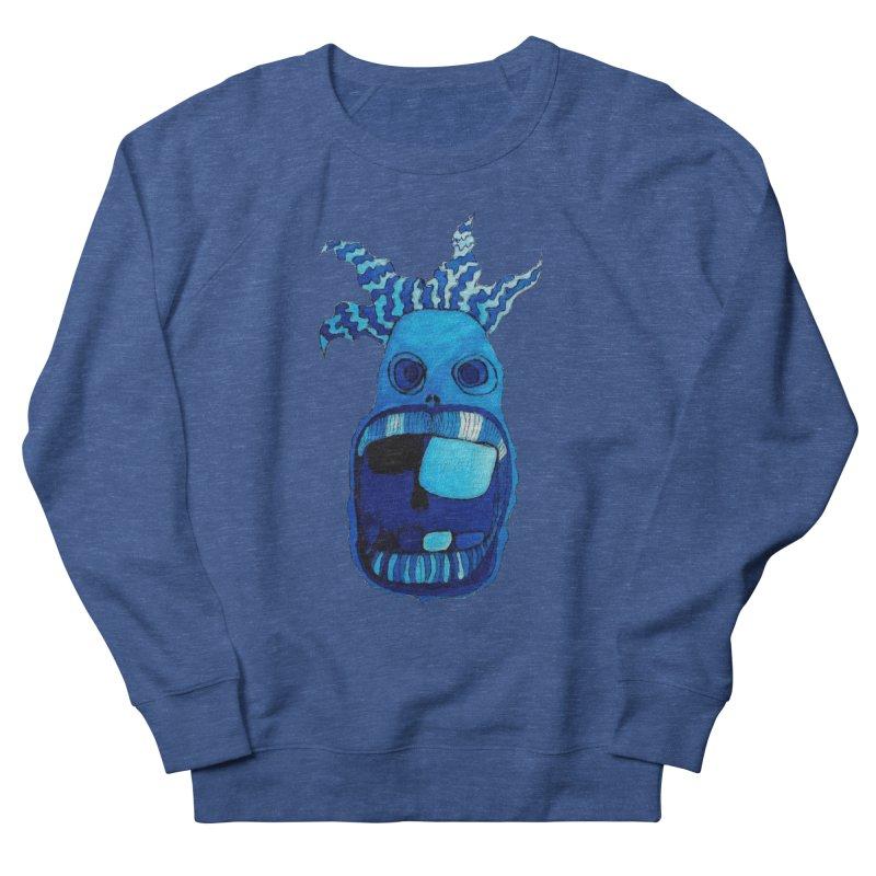 BLUE WALLY!  Men's Sweatshirt by Baston's T-Shirt Emporium!