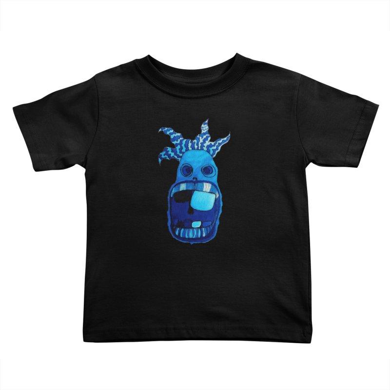 BLUE WALLY!  Kids Toddler T-Shirt by Baston's T-Shirt Emporium!