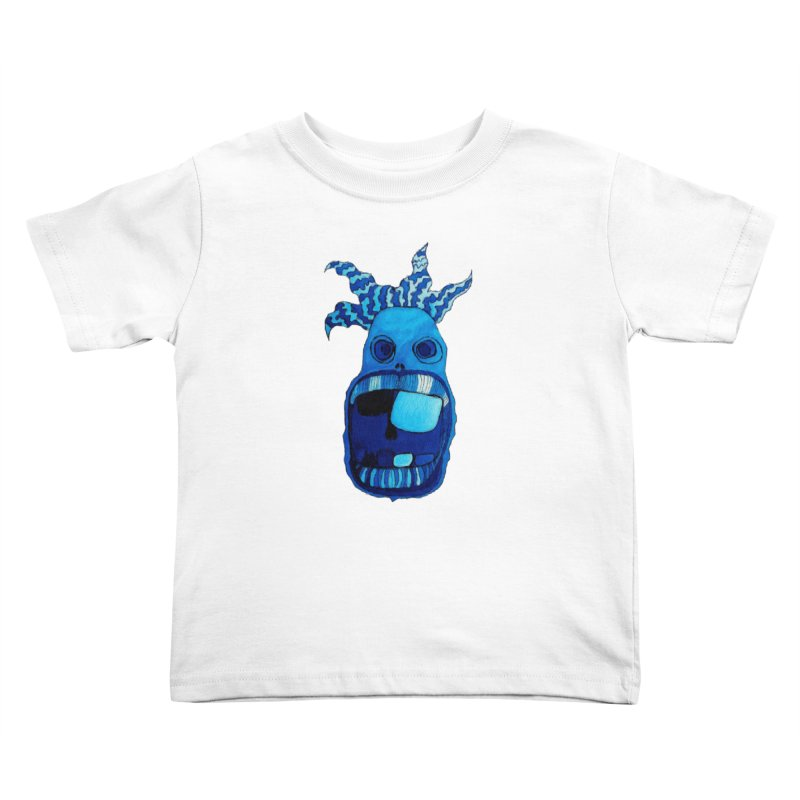 BLUE WALLY!  Kids Toddler T-Shirt by Baston's T-Shirt Emporium!